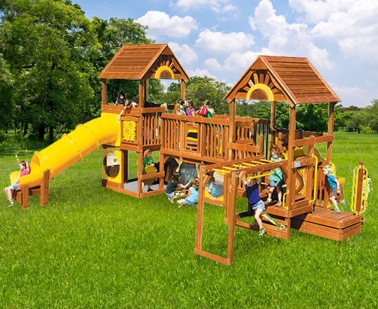Commercial Playground Equipment Dealer in SE Michigan - commercial-swing-set