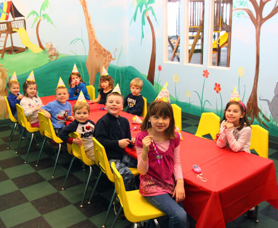 Kids Party Room Rentals in New Hudson & Utica Michigan  - play-room