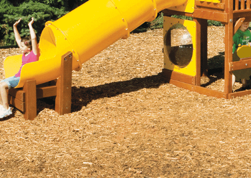 Rainbow Play Systems® Dealer in Michigan - Kids Gotta Play - rainbow-systems-surface-mulch